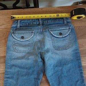 - Aeropostale distressed jean capris size 7/8